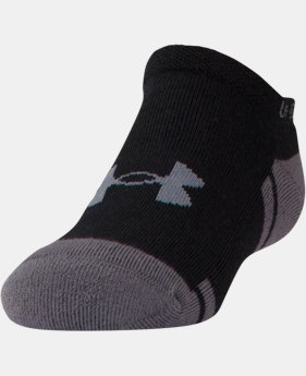 Best Seller Boys' UA Resistor III No Show Socks – 6-Pack  2 Colors $21