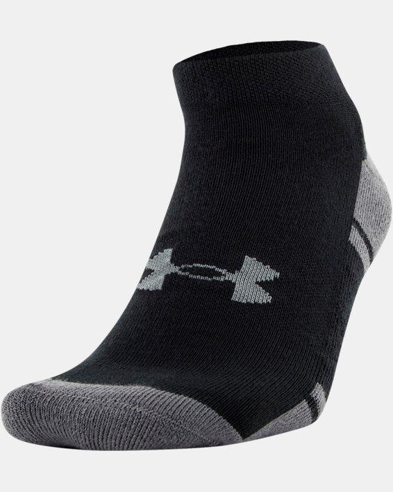 UA Resistor III Lo Cut Socks - 6-Pack, Black, pdpMainDesktop image number 1