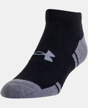 Best Seller Men's UA Resistor III Lo Cut Socks 6-Pack  2 Colors $21.99