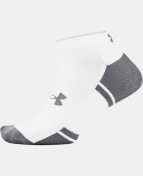 Men's UA Resistor III Lo Cut Socks 6-Pack