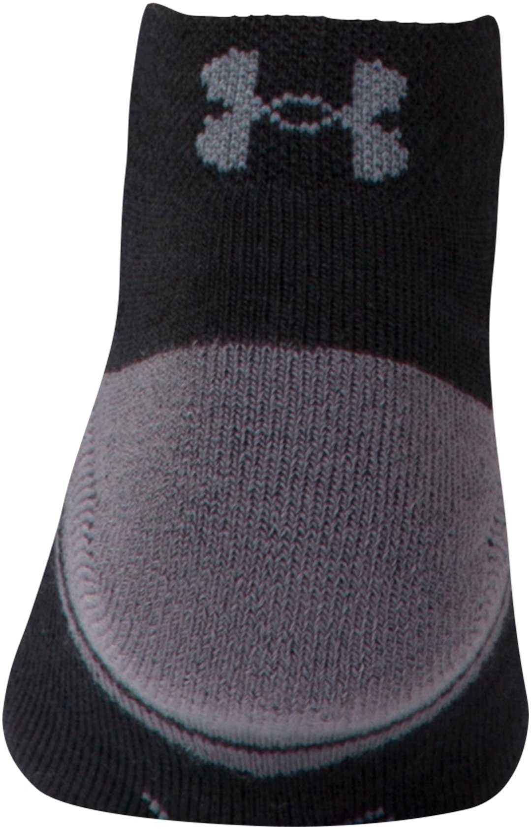 Boys' UA Resistor III Lo Cut Socks – 6-Pack, Black , undefined