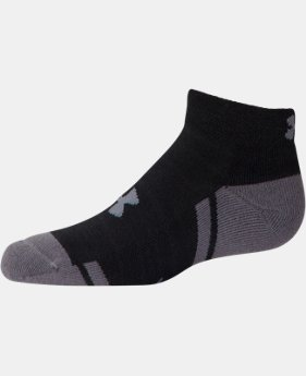 Boys' UA Resistor III Lo Cut Socks 6-Pack
