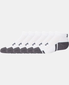 Best Seller Boys' UA Resistor III Low Cut Socks 6-Pack  1 Color $20.99