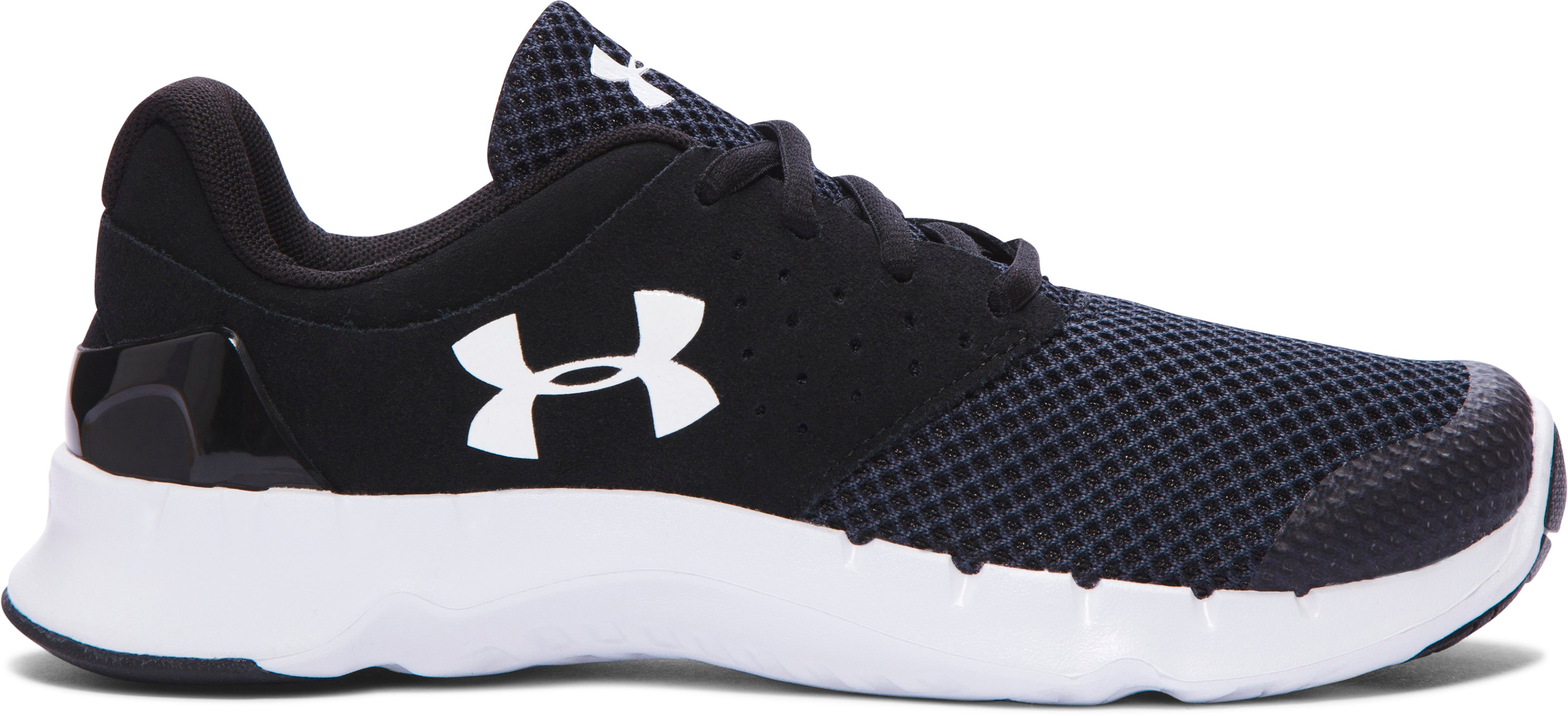 Boys' Grade School UA Flow TCK Running Shoes, Black