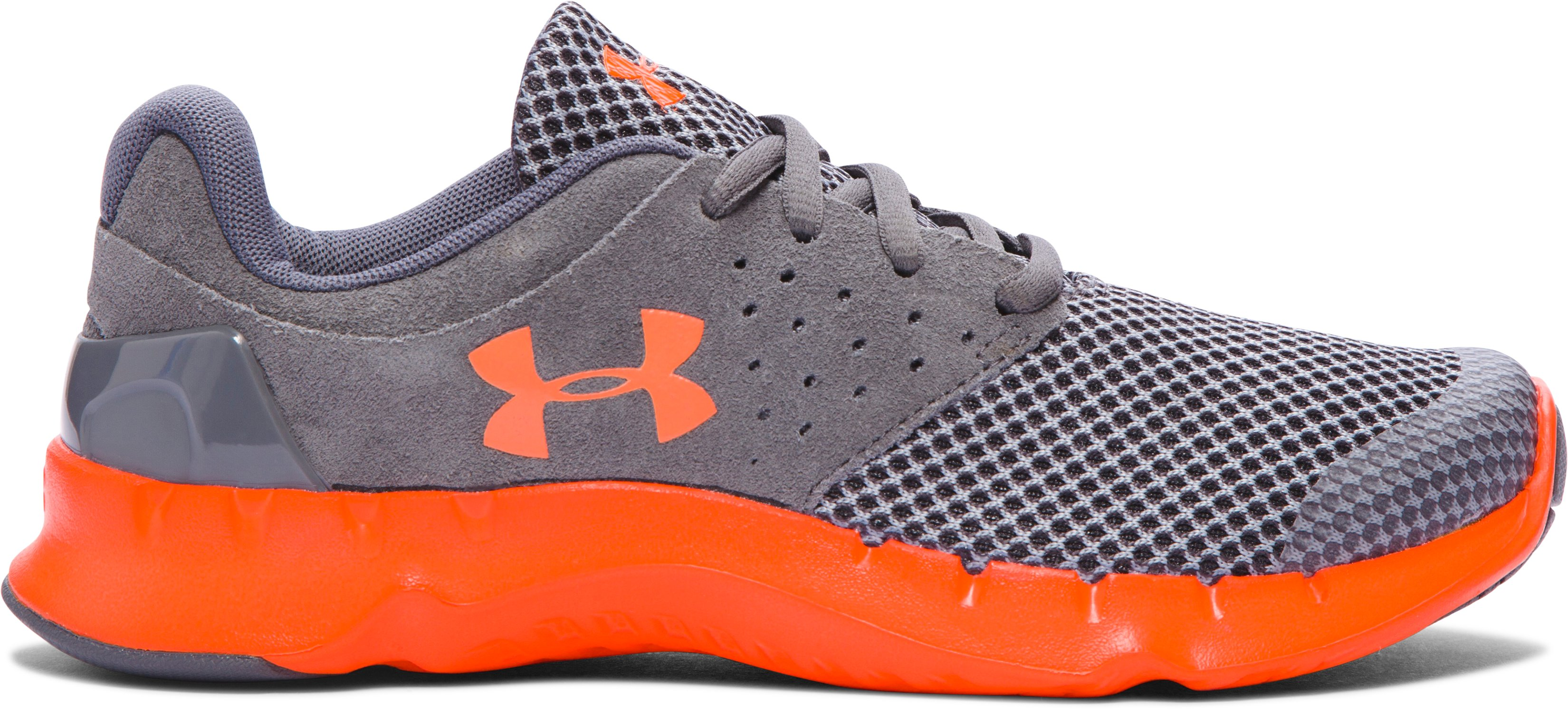 Boys' Grade School UA Flow TCK Running Shoes, Graphite