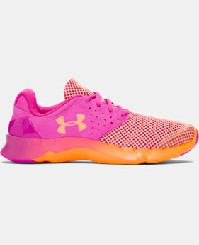Girls' Grade School UA Flow TCK Running Shoes  1 Color $52.99