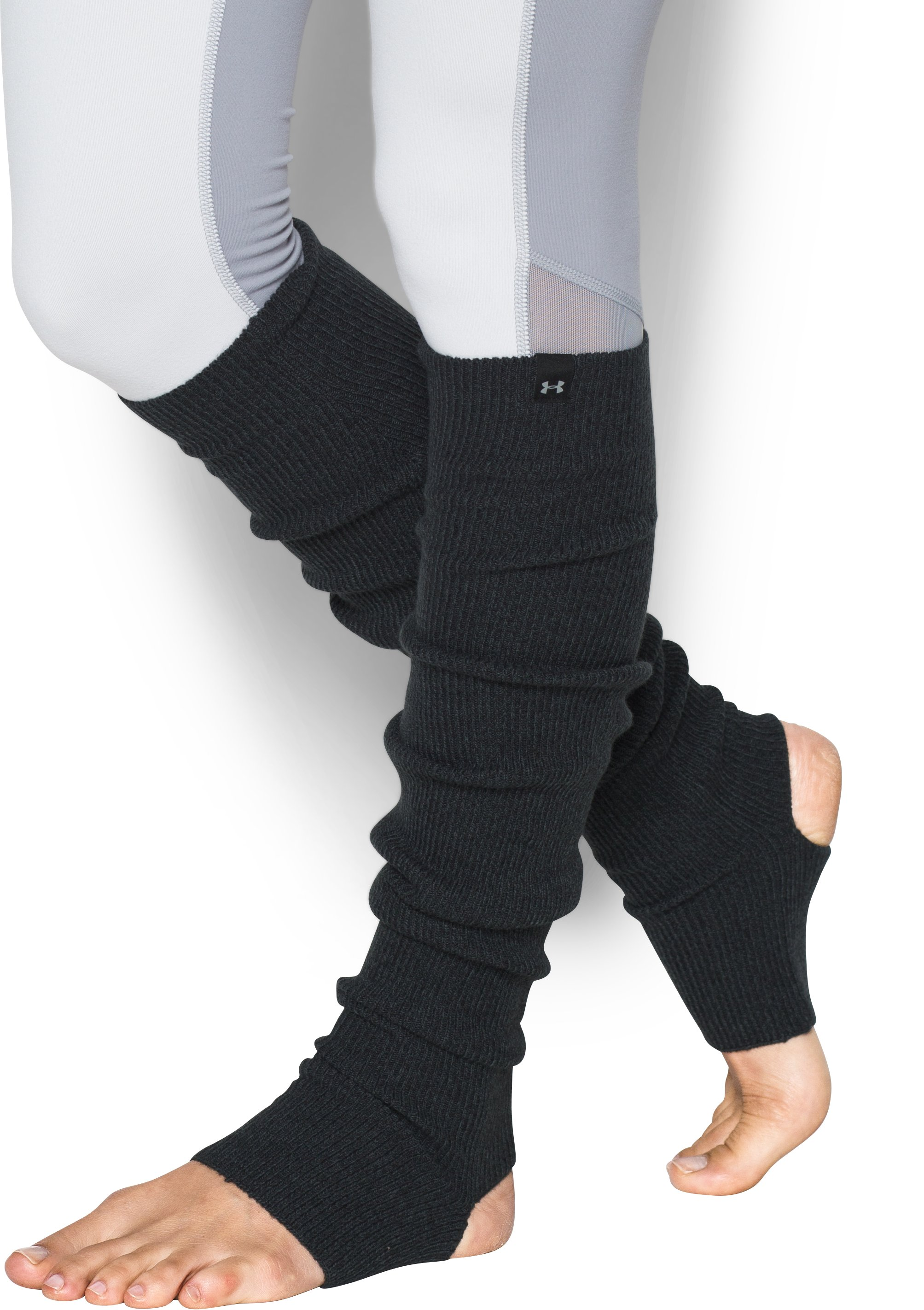 Women's UA Essentials Leg Warmers, Black