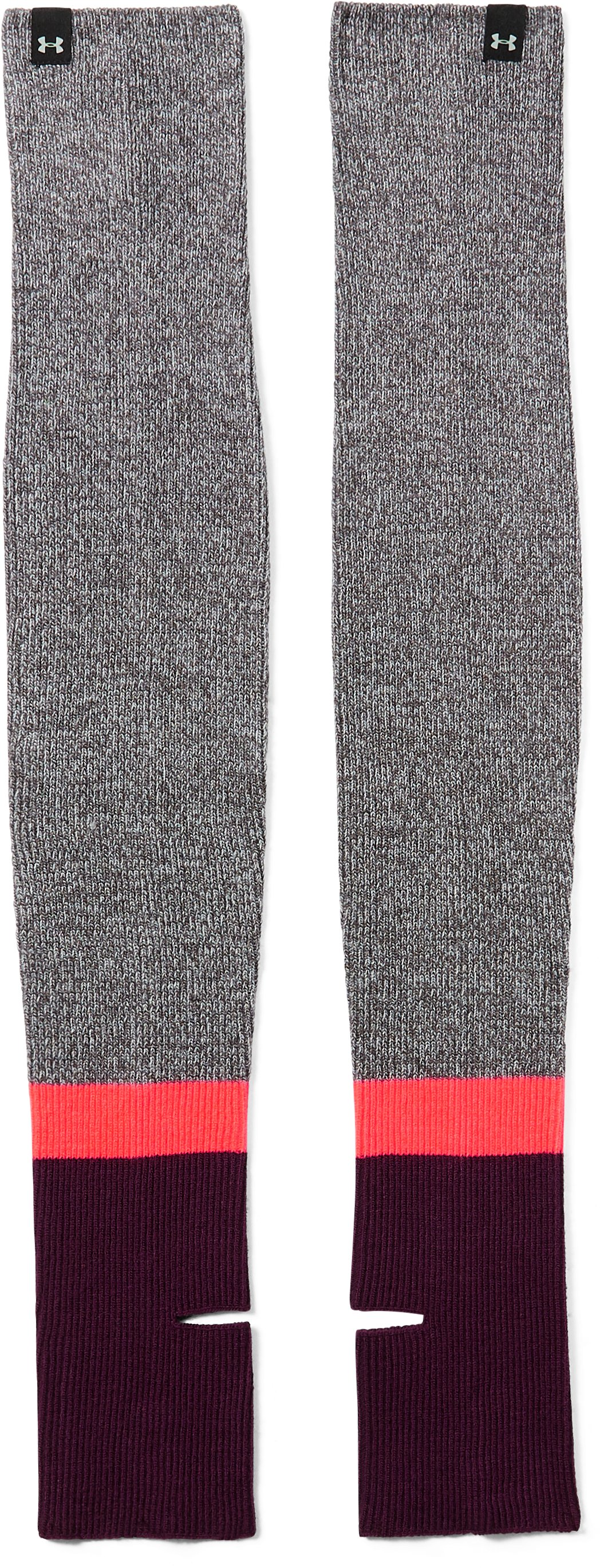 Women's UA Essentials Leg Warmers, Carbon Heather