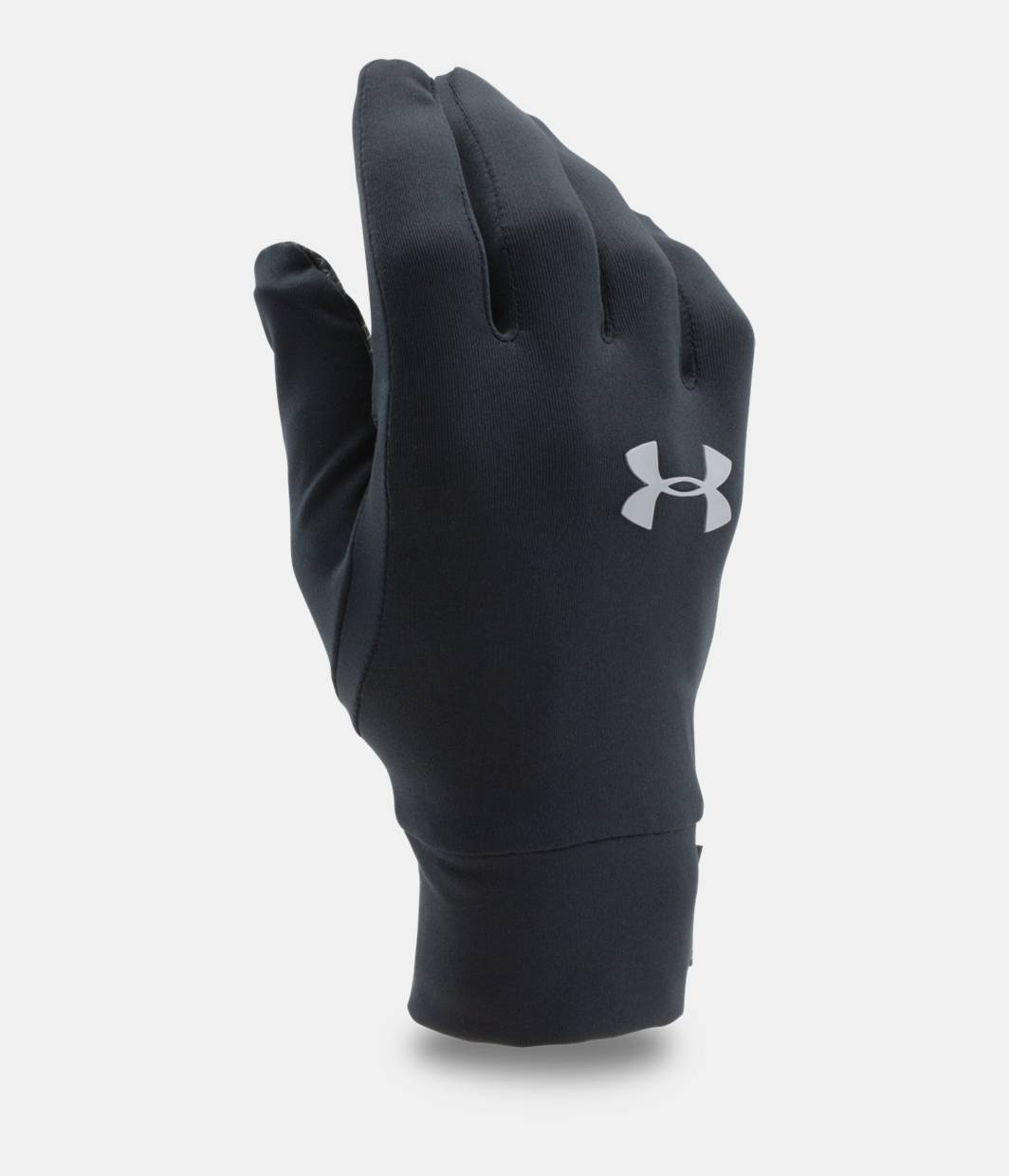 Under armour leather work gloves - Ua Armour Liner Gloves Black Zoomed Image