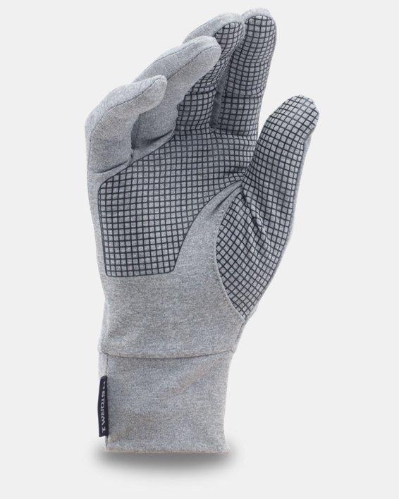 UA Armour® Liner Gloves, Gray, pdpMainDesktop image number 1