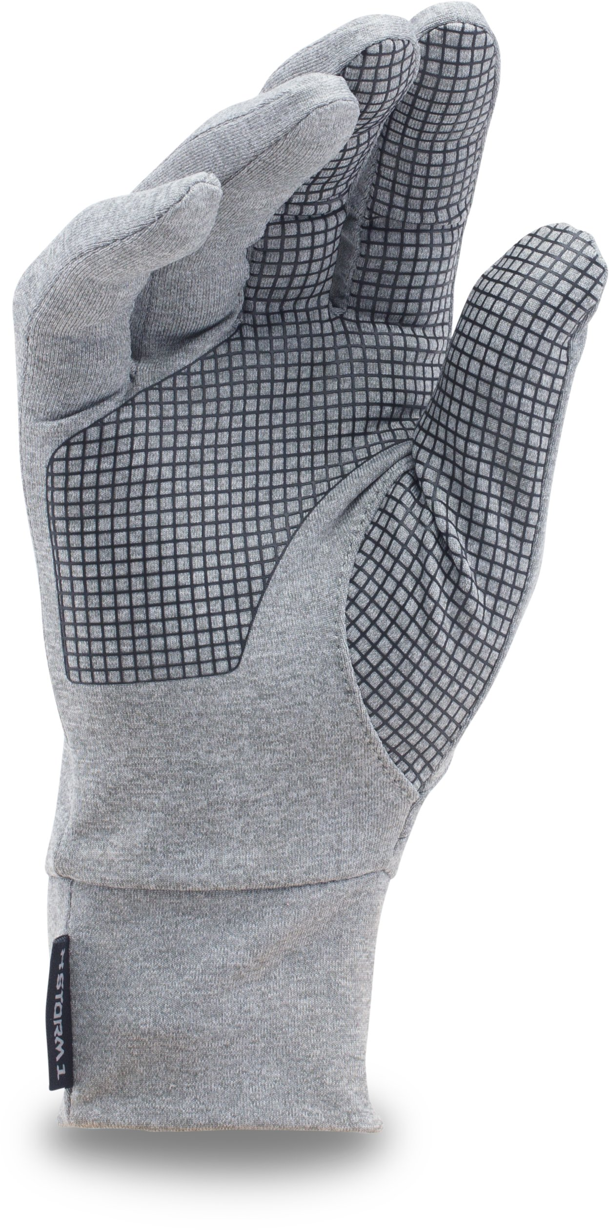 UA Armour® Liner Gloves, True Gray Heather,