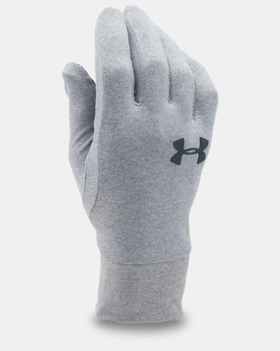 UA Armour® Liner Gloves, Gray, pdpMainDesktop image number 0