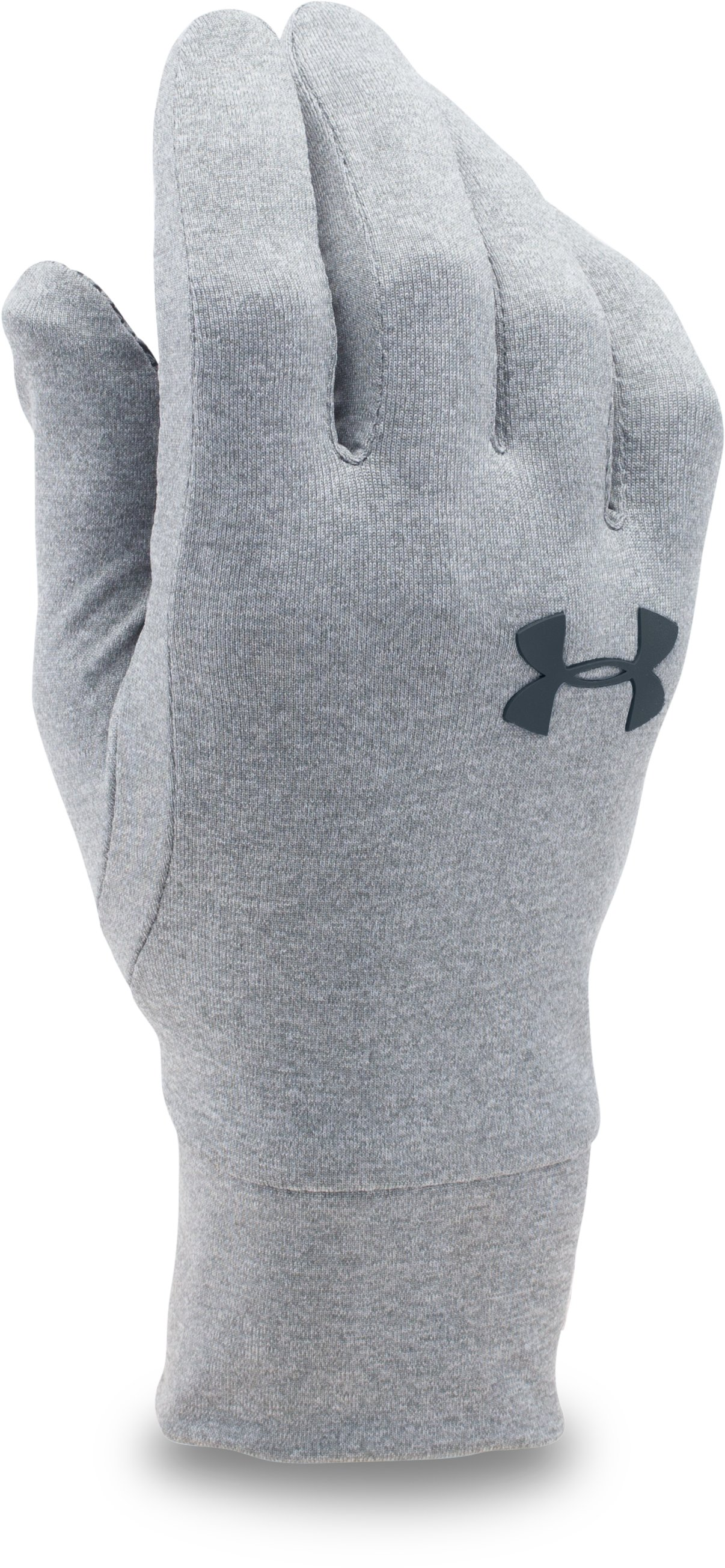 UA Armour® Liner Gloves, True Gray Heather