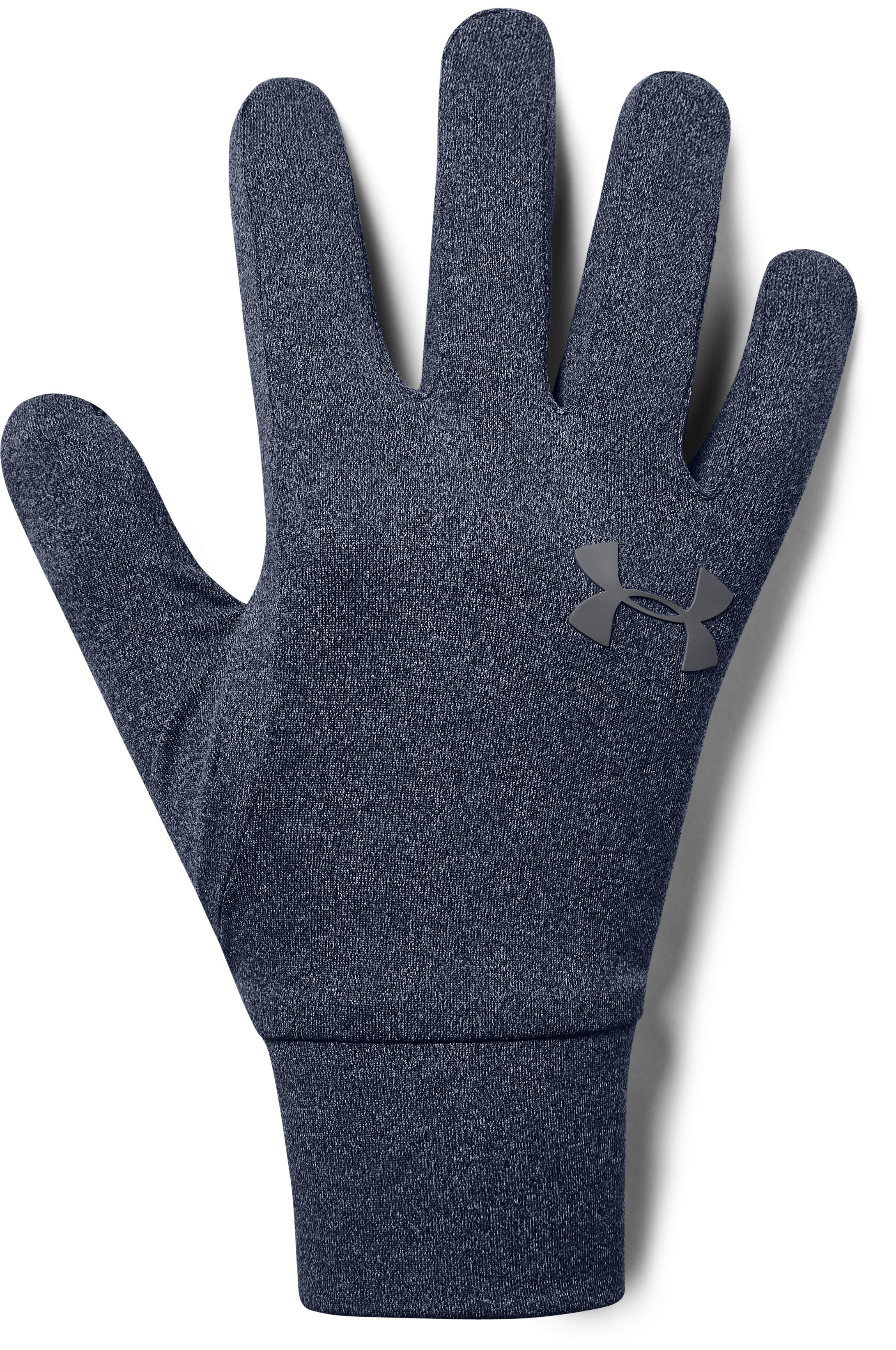 UA Armour® Liner Gloves, Midnight Navy, undefined
