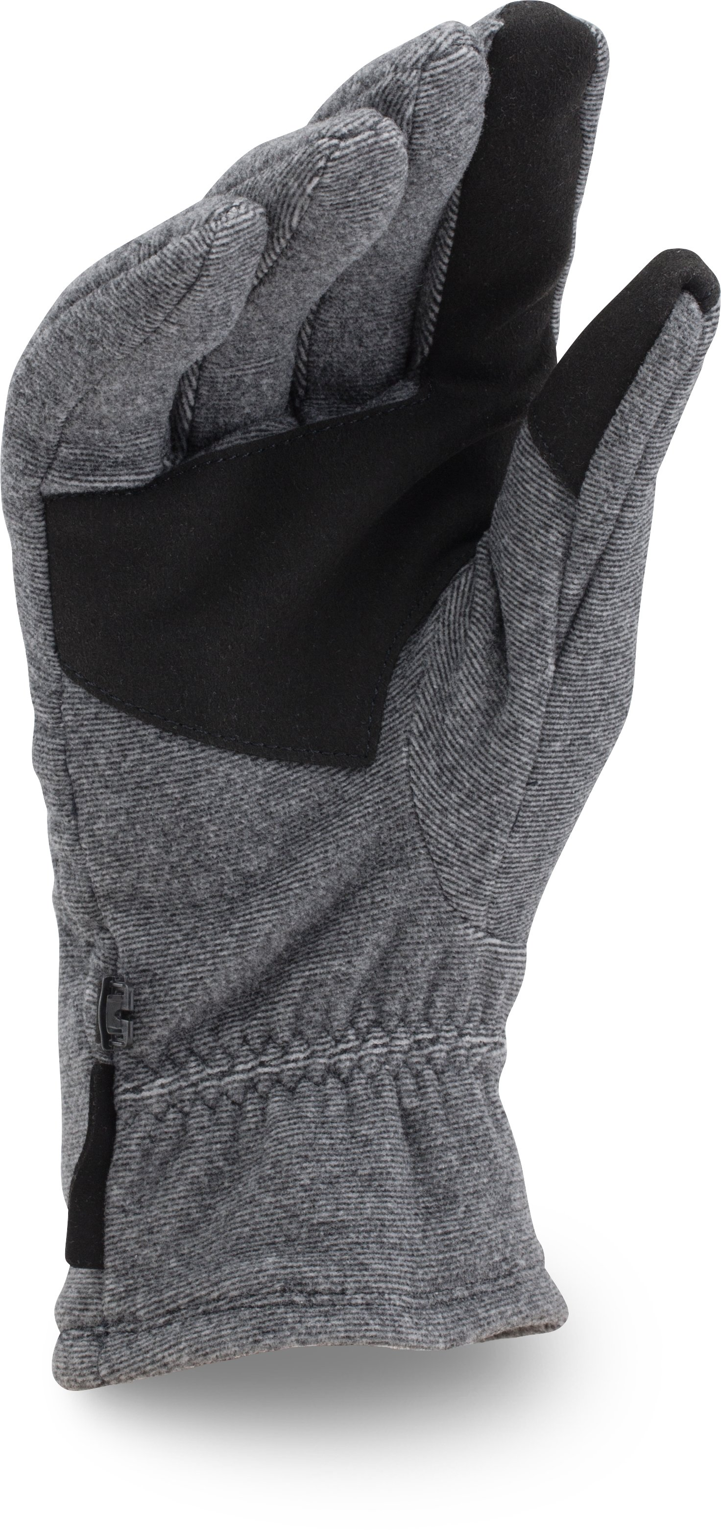 Men's UA ColdGear® Infrared Fleece Gloves, Black , undefined