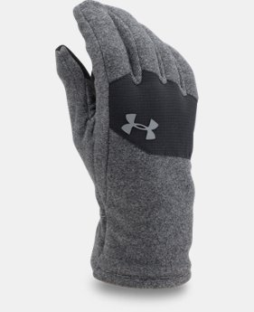 Men's UA ColdGear® Infrared Fleece Gloves  2 Colors $34.99