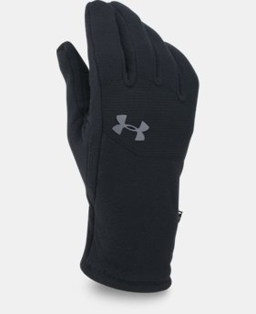 New Arrival Men's UA ColdGear® Infrared Fleece Gloves  6 Colors $29.99