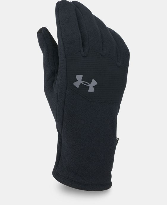 Men's UA ColdGear® Infrared Fleece Gloves  6 Colors $29.99