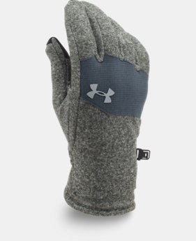Men's UA ColdGear® Infrared Fleece Gloves  1 Color $29.99