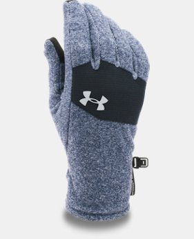 New Arrival Men's UA ColdGear® Infrared Fleece Gloves  2 Colors $29.99