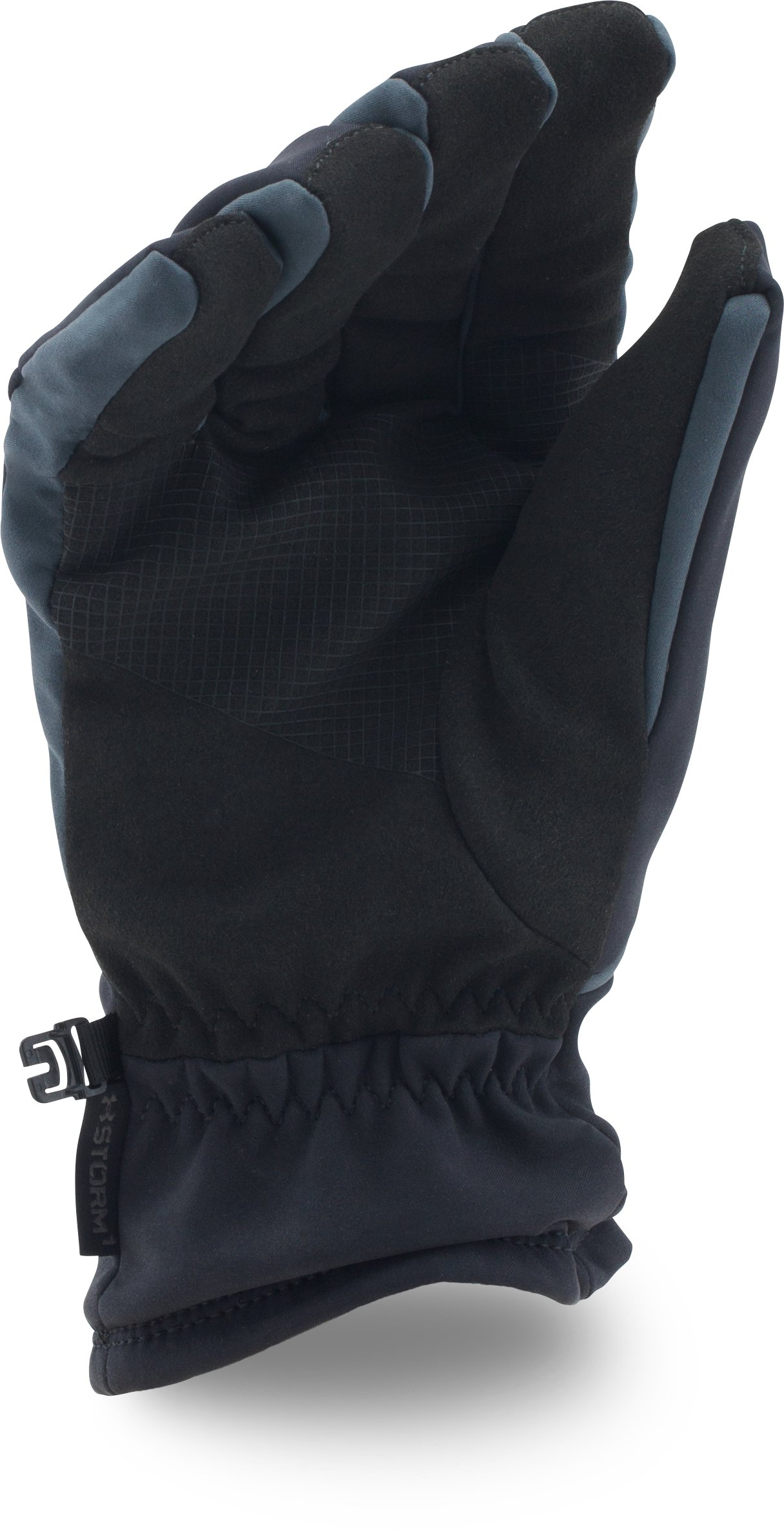 Men's UA ColdGear® Infrared Softshell Gloves, Black ,