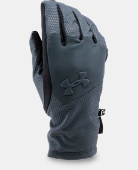 New to Outlet Men's UA ColdGear® Infrared Softshell Gloves  1 Color $33.99