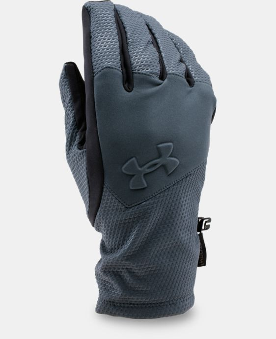 Men's UA ColdGear® Infrared Softshell Gloves LIMITED TIME: FREE U.S. SHIPPING 1 Color $33.99