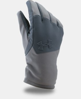 New Arrival Men's UA ColdGear® Infrared Softshell Gloves LIMITED TIME: FREE U.S. SHIPPING 1 Color $44.99