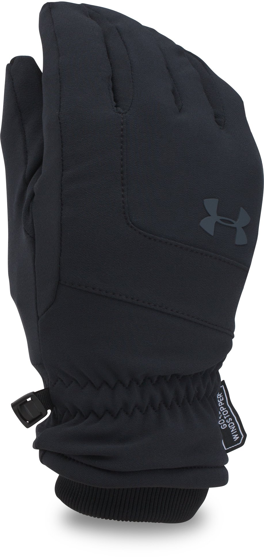 Men's UA GORE® WINDSTOPPER® Gloves, Black
