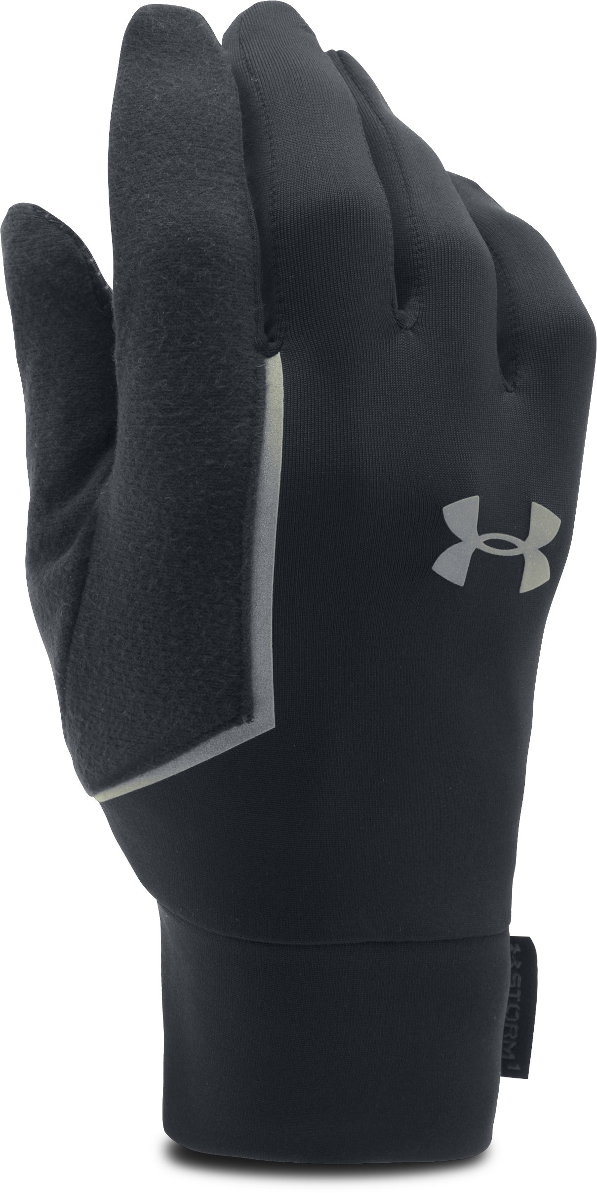 Men's UA No Breaks Armour® Liner Gloves, Black