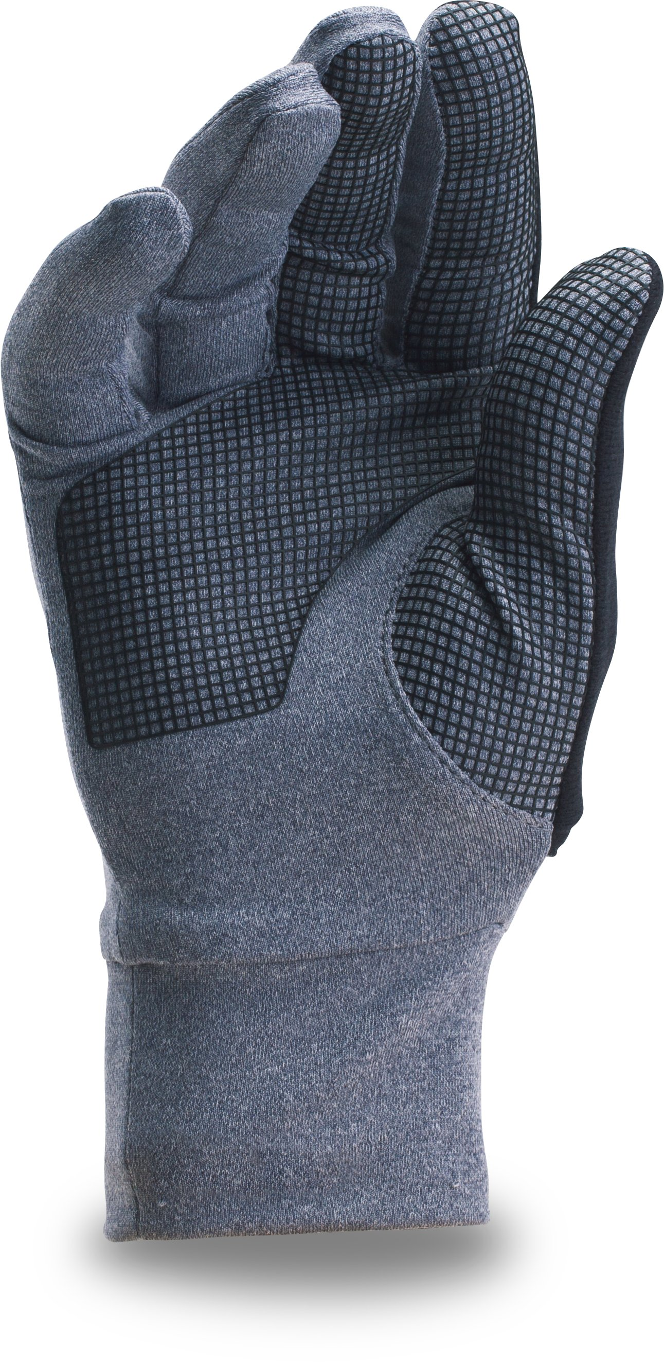 Men's UA No Breaks Armour® Liner Gloves, APOLLO GRAY, undefined