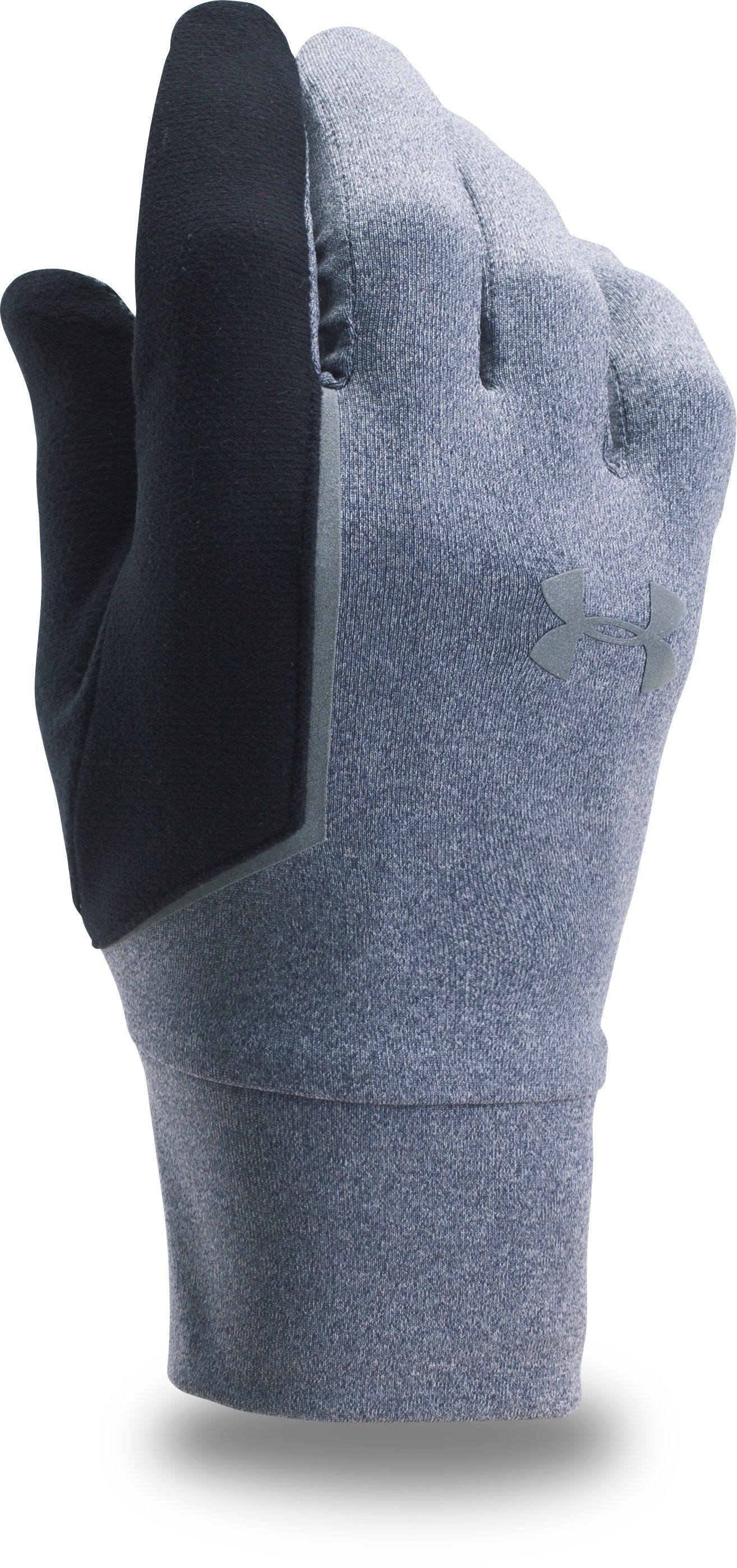 Men's UA No Breaks Armour® Liner Gloves, APOLLO GRAY