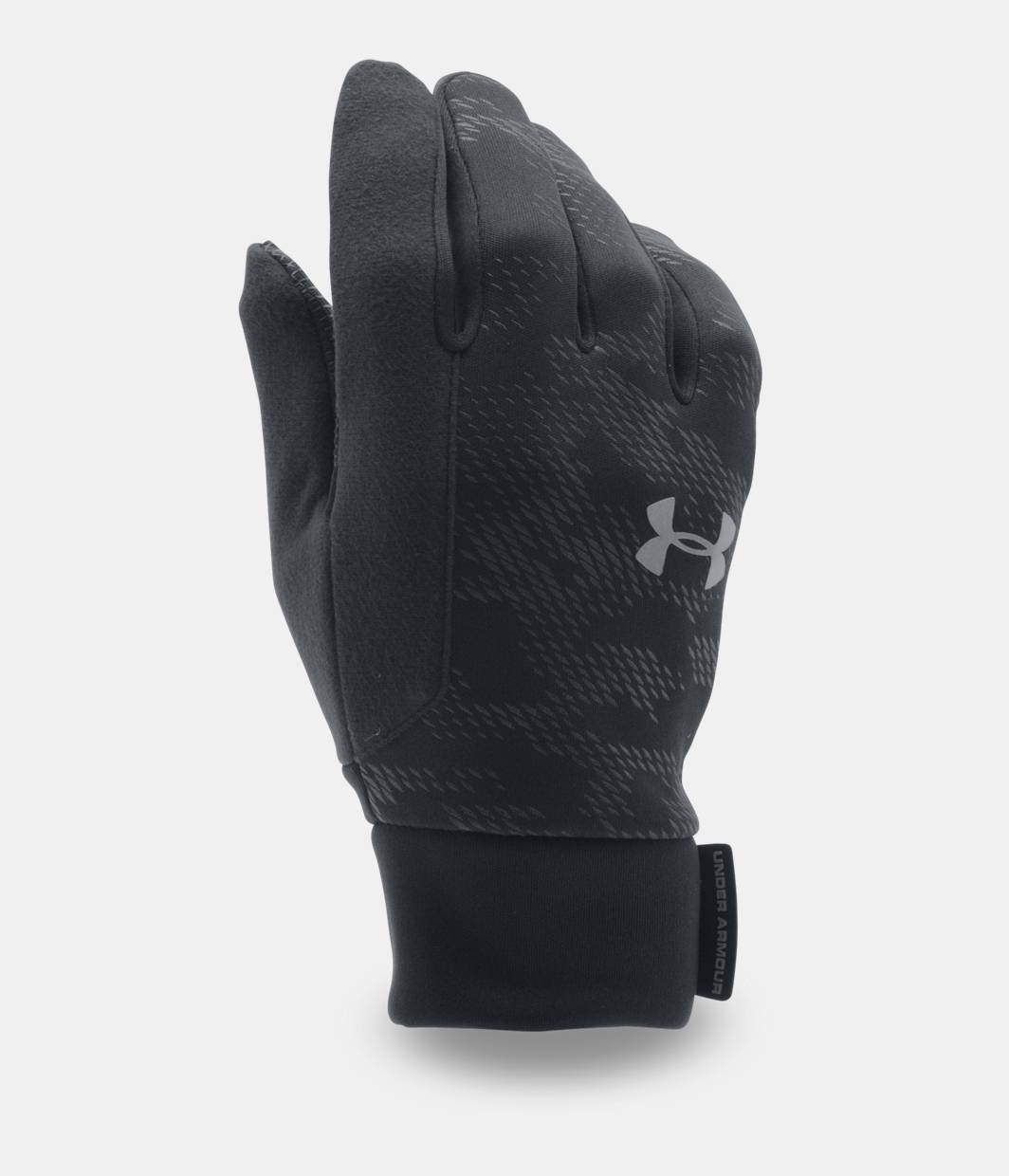 Mens sizes in gloves - Men S Ua No Breaks Coldgear Infrared Liner Gloves Black Zoomed Image