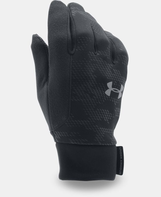 New Arrival Men's UA No Breaks ColdGear® Infrared Liner Gloves LIMITED TIME: FREE U.S. SHIPPING  $29.99