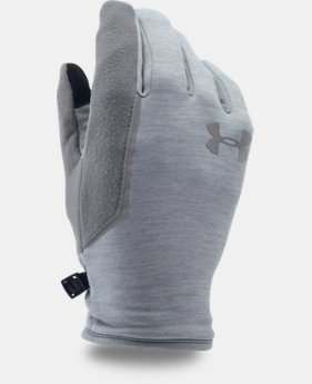 Men's UA No Breaks Armour® Fleece Gloves  LIMITED TIME: FREE U.S. SHIPPING 2 Colors $39.99
