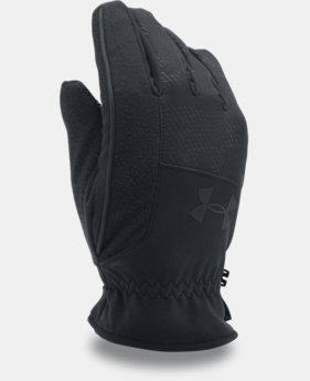 Men's UA No Breaks Softshell Gloves LIMITED TIME: FREE U.S. SHIPPING 1 Color $33.99