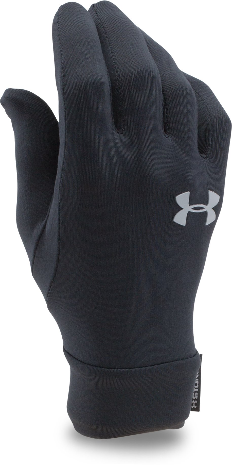 Kids' UA Armour® Liner Gloves, Black