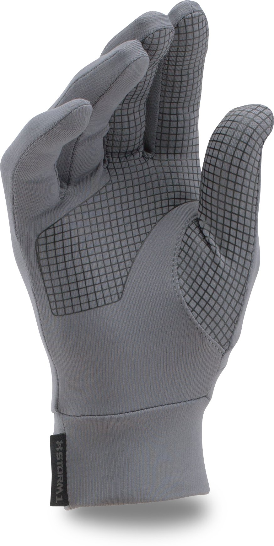 Kids' UA Armour® Liner Gloves, Graphite