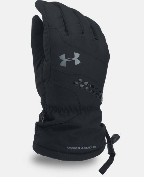 Men's UA Mountain Gloves  1 Color $74.99