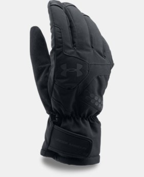 New to Outlet Men's UA Treblecone Gloves LIMITED TIME OFFER 1 Color $59.49