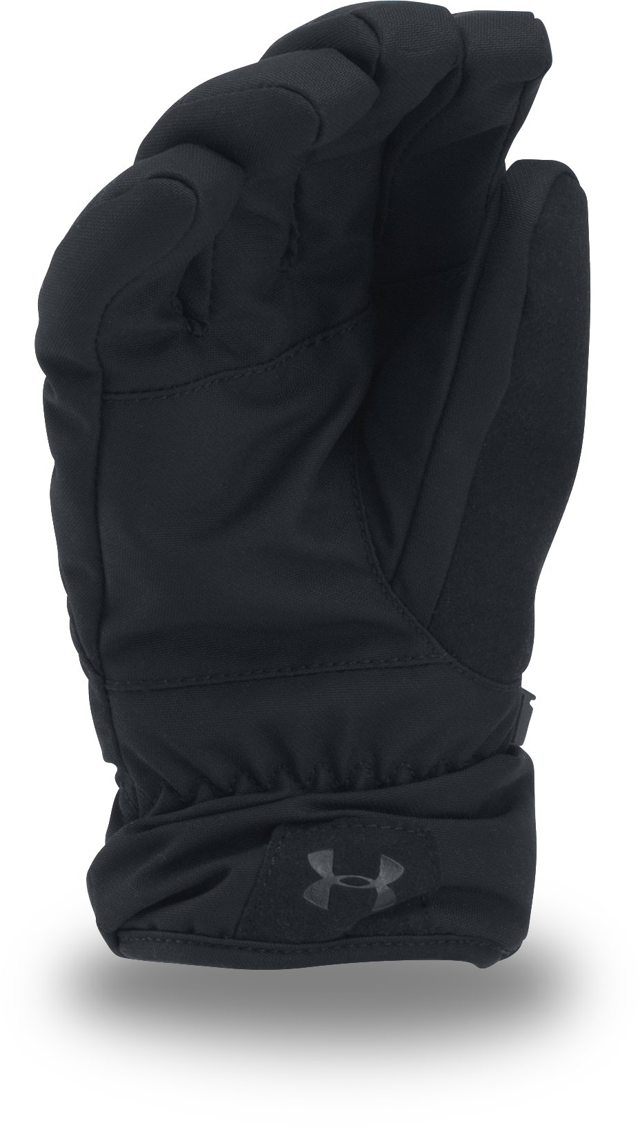 Boys' UA Mountain Gloves, Black , undefined