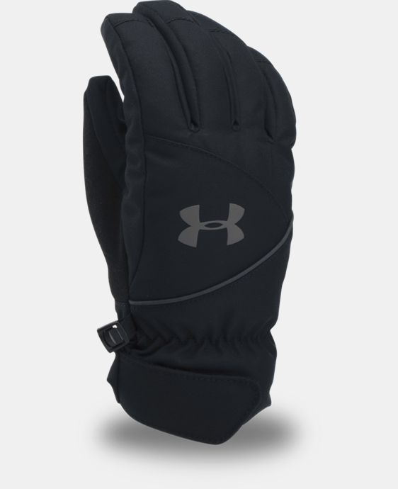 Boys' UA Mountain Gloves LIMITED TIME: FREE U.S. SHIPPING 1 Color $49.99