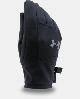 Kids' UA ColdGear® Infrared Softshell Gloves LIMITED TIME: FREE U.S. SHIPPING  $29.99