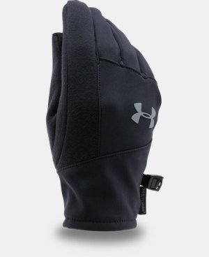 Kids' UA ColdGear® Infrared Softshell Gloves LIMITED TIME: FREE U.S. SHIPPING 1 Color $29.99