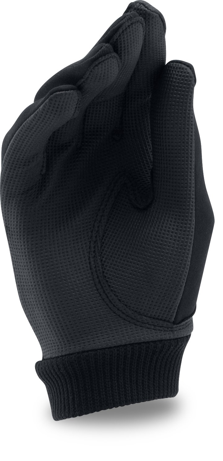 Women's UA ColdGear® Golf Gloves, Black