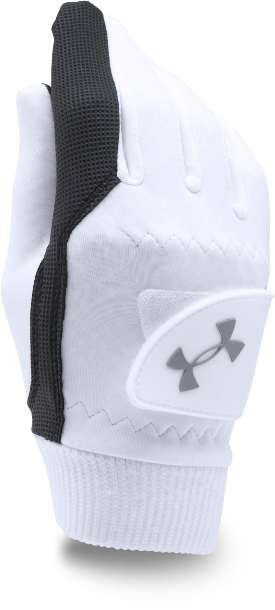 Women's UA ColdGear® Golf Gloves, White,