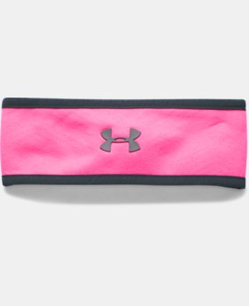 New Arrival  Girls' UA Elements Fleece Headband LIMITED TIME: FREE SHIPPING 1 Color $22.99