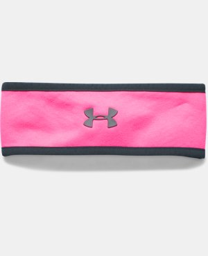 Girls' UA Elements Fleece Headband LIMITED TIME: FREE U.S. SHIPPING  $19.99