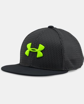 Boys' UA Twist Knit Snapback Cap