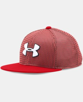 New Arrival  Boys' UA Twist Knit Snapback Cap  2 Colors $29.99